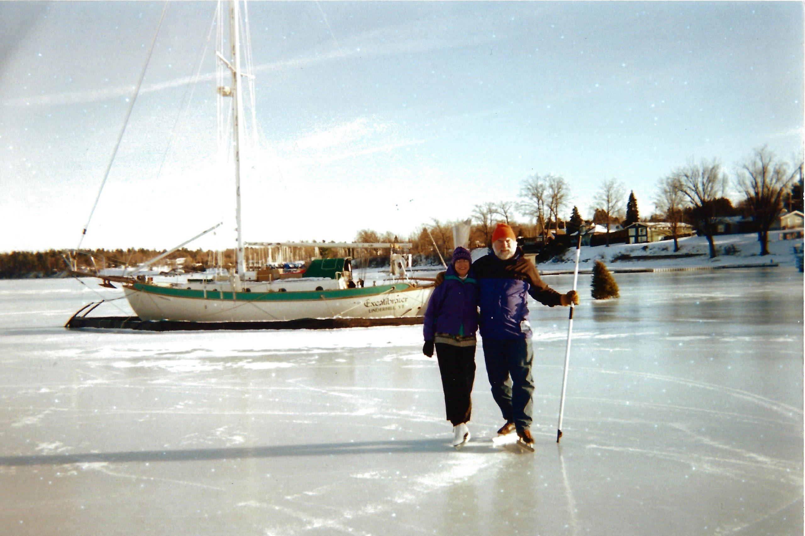Carl Ettlinger Ice Skating