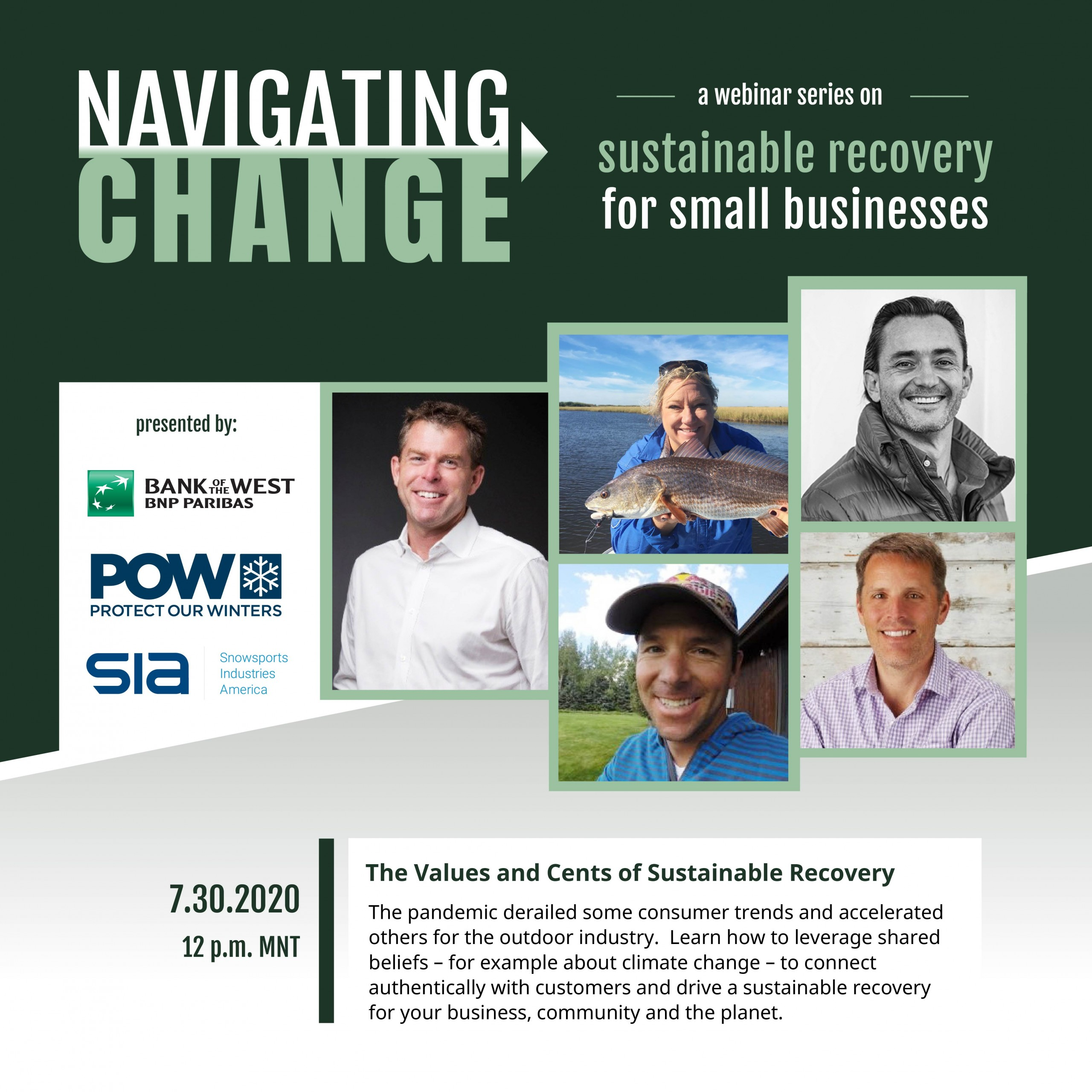 Navigating Change Series #2: The Values and Cents of Sustainable Recovery