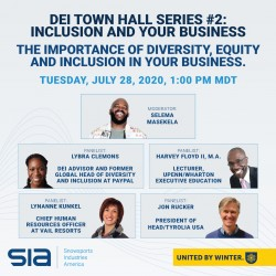Inclusion Town Hall #2: Inclusion and Your Business