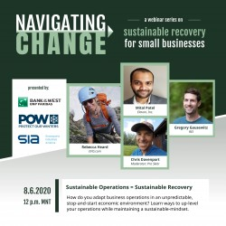 Navigating Change Series #3: Sustainable Operations = Sustainable Recovery