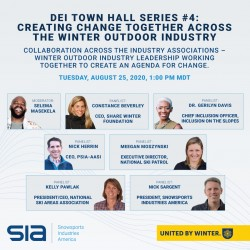 Inclusion Town Hall #4: Creating Change Together Across the Winter Outdoor Industry