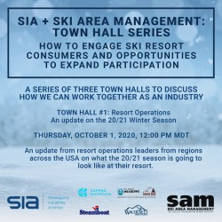 SIA + SAM Present: Resort Operations – An update on the 20/21 Winter Season
