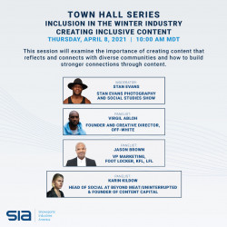 Town Hall Series - Inclusion in the Winter Industry - Creating Inclusive Content