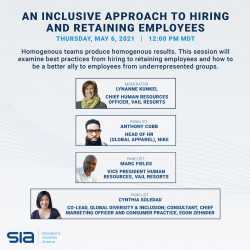 Town Hall Series - Inclusion in the Winter Industry; An Inclusive Approach to Hiring and Retaining Employees