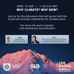 """ClimateUnited Week - """"Why Climate? Why Now?"""""""