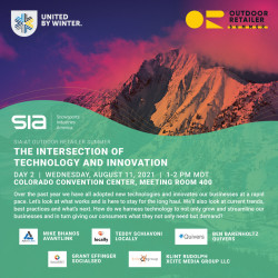 SIA at Summer OR 2021 - The Intersection of Technology and Innovation