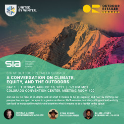 SIA at OR Summer 2021 - A Conversation on Equity and the Outdoors